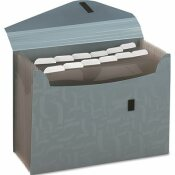 ESSELTE PENDAFLEX CORP. PENDAFLEX ESSENTIALS EXPANDING FILE, 13 POCKETS, POLY, 13 1/2 X 9, BLUE