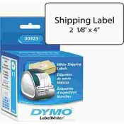 DYMO SHIPPING LABELS, 2-1/8 X 4 , WHITE, 220/BOX