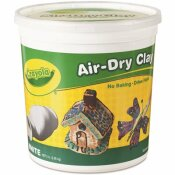 CRAYOLA AIR-DRY CLAY IN WHITE