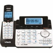 VTECH CORDLESS 2-LINE PHONE SYSTEM WITH DIGITAL ANSWERING SYSTEM SINGLE-HANDSET SYSTEM