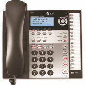 AT AND T VTECH 1070 CORDED 4-LINE EXPANDABLE TELEPHONE, CALLER ID