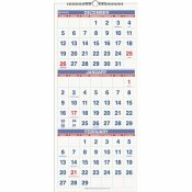 AT-A-GLANCE 12 IN. X 27 IN. 3-MONTHS-PER-PAGE 14-MONTH VERTICAL FORMAT WALL CALENDAR