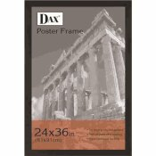 DAX EBONY 24 IN. X 36 IN. BLACK POSTER FRAME WITH WIDE PROFILE