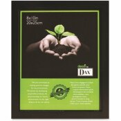 DAX CERTIFICATE 8 IN. X 10 IN. BLACK EASEL BACK PICTURE FRAME