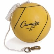 CHAMPION SPORT TETHER BALL, PLAYGROUND SIZE, OPTIC YELLOW