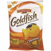 GOLDFISH 1.5 OZ. CHEDDAR SINGLE-SERVE CRACKERS SALTY SNACK BAG (72-PACK)