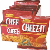 SUNSHINE 1.5 OZ. KELLOGG'S CHEEZ-IT CRACKERS SINGLE-SERVING SALTY SNACK (8-PACK/BOX)
