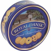 CAMPBELL'S 12 OZ. DANISH BUTTER COOKIES TIN
