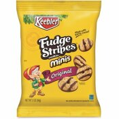 KEEBLER 2 OZ. KELLOGG'S MINI COOKIES FUDGE STRIPES SNACK PACK (8 PACKS/BOX)