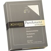 SOUTHWORTH CO. PARCHMENT SPECIALTY PAPER, 24 LBS., 8-1/2 X 11, IVORY, 500/BOX
