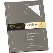 SOUTHWORTH CO. PARCHMENT SPECIALTY PAPER, 24 LBS., 8-1/2 X 11, BLUE, 100/PACK