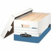 BANKERS BOX 10.5 IN. L X 13 IN. W X 25.4 IN. D PRESTO STORAGE MOVING BOX