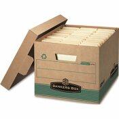 BANKERS BOX MEDIUM LETTER/LEGAL STORAGE BOXES