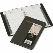 AT-A-GLANCE AT-A-GLANCE WEEKLY APPOINTMENT BOOK, 4-7/8 X 8, BLACK