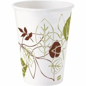 DIXIE 12 OZ. PATHWAYS PAPER HOT DRINK CUPS (25 PER PACK)