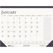 HOUSE OF DOOLITTLE 18-1/2 IN. X 13 IN. 2013 2-COLOR MONTHLY DESK PAD CALENDAR WITH LARGE NOTES SECTION