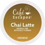 CAFE ESCAPES CHAI LATTE K-CUPS (24 PER BOX)