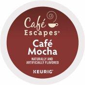 CAFE ESCAPES MOCHA K-CUPS (24 PER BOX)