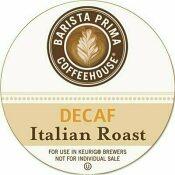 GREEN MOUNTAIN COFFEE ROASTERS GREEN MOUNTAIN COFFEE DECAF ITALIAN ROAST K-CUPS COFFEE PACK, 24 PER BOX