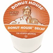 GREEN MOUNTAIN COFFEE ROASTERS GREEN MOUNTAIN COFFEE DONUT HOUSE DECAF COFFEE K-CUPS (24 PER BOX)