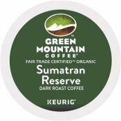 GREEN MOUNTAIN COFFEE ROASTERS FAIR TRADE ORGANIC SUMATRAN EXTRA BOLD COFFEE K-CUPS (96 PER CARTON)