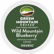 GREEN MOUNTAIN COFFEE FAIR TRADE WILD MOUNTAIN BLUEBERRY COFFEE K-CUPS (24 PER BOX)