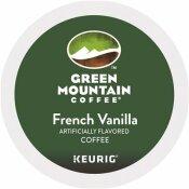 GREEN MOUNTAIN COFFEE ROASTERS FRENCH VANILLA COFFEE K-CUPS (96 PER CARTON)