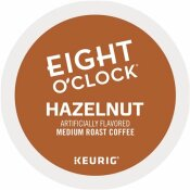 EIGHT O'CLOCK HAZELNUT COFFEE K-CUPS (24 PER BOX)
