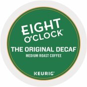 EIGHT O'CLOCK ORIGINAL DECAF COFFEE K-CUPS