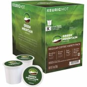 GREEN MOUNTAIN COFFEE REGULAR VARIETY PACK COFFEE K-CUPS (22 PER BOX)
