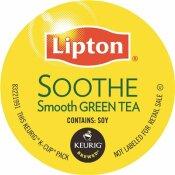 LIPTON GREEN MOUNTAIN COFFEE SOOTHE SMOOTH GREEN TEA K-CUPS (24 PER BOX)