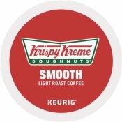 KRISPY KREME DOUGHNUTS SMOOTH COFFEE WITH LIGHT ROAST K-CUP PACK (24 PER BOX)