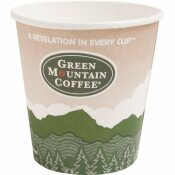 GREEN MOUNTAIN COFFEE ROASTERS ECO-FRIENDLY 16 OZ. MULTI-COLORED PAPER HOT DRINK CUPS (1,000 PER CASE)