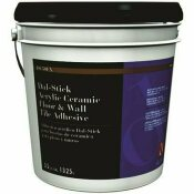 DALTILE DAL-STICK ACRYLIC CERAMIC FLOOR & WALL TILE ADHESIVE 3.5 GALLONS - DALTILE PART #: 555531/2DSEX50