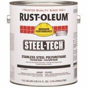 RUST-OLEUM 1 GAL. STEEL-TECH METALLIC GRAY INTERIOR/EXTERIOR STAINLESS STEEL POLYURETHANE