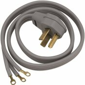 GE 6 FT. 3-PRONG 30 AMP DRYER CORD