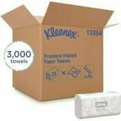 SCOTTFOLD MULTI-FOLD PAPER TOWELS (13254) ABSORBENCY POCKETS, WHITE (25-PACKS/CASE, 120 TOWELS/PACK, 3000 TOWELS/CASE)