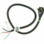 WHIRLPOOL 4 FT. 4-WIRE 30 AMP DRYER CORD