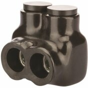 NSI INDUSTRIES 3/0-6 AWG INSULATED TAP CONNECTOR, BLACK - NSI INDUSTRIES PART #: IT-3/0