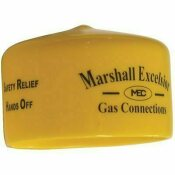 MARSHALL EXCELSIOR COMPANY MEC PROTECTIVE CAP .437 IN. ID X .38 IN. OAL YELLOW *