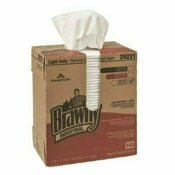 GEORGIA-PACIFIC PROFESSIONAL P100 DISPOSABLE CLEANING TOWEL, TALL BOX, WHITE (20-BOXES PER CASE) - GEORGIA-PACIFIC PART #: 29221