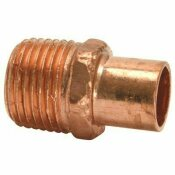 MUELLER STREAMLINE 1/2 IN. COPPER FTG X MPT MALE ADAPTER