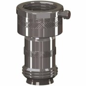 WOODFORD ADD-ON 3/4 IN. HOSE THREAD CHROME DOUBLE-CHECK BACKFLOW PREVENTER