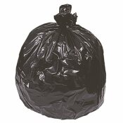 40 GAL. TO 45 GAL. 40 IN. X 46 IN. 2.0 MIL BLACK LOW-DENSITY TRASH BAGS (10 BAGS PER ROLL 10 ROLLS PER CASE) - NATIONAL BRAND ALTERNATIVE PART #: RNW4620