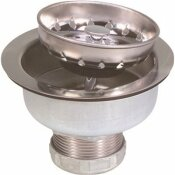 PROPLUS LONG SHANK SINK STRAINER, STAINLESS STEEL