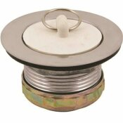 PROPLUS WASH TRAY PLUG WITH STOPPER STAINLESS STEEL