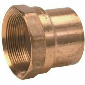 MUELLER STREAMLINE 3/4 IN. X 1/2 IN. COPPER C X FPT FEMALE ADAPTER
