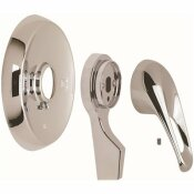 BRASSCRAFT 1-HANDLE TUB AND SHOWER FAUCET TRIM KIT FOR MIXET NON-PRESSURE BALANCED VALVES IN CHROME (VALVE NOT INCLUDED)