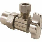 BRASSCRAFT ANGLE STOP 1/2 IN. NOM CPVC INLET X 3/8 IN. OD COMP OUTLET