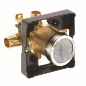 DELTA MULTICHOICE UNIVERSAL TUB AND SHOWER VALVE BODY ROUGH-IN KIT WITH SCREWDRIVER STOPS
